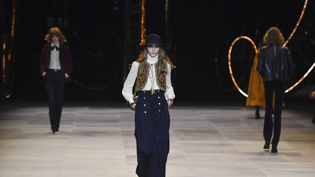 Fashion Week Automne-Hiver 2020-21: heureuses obsessions chez Celine