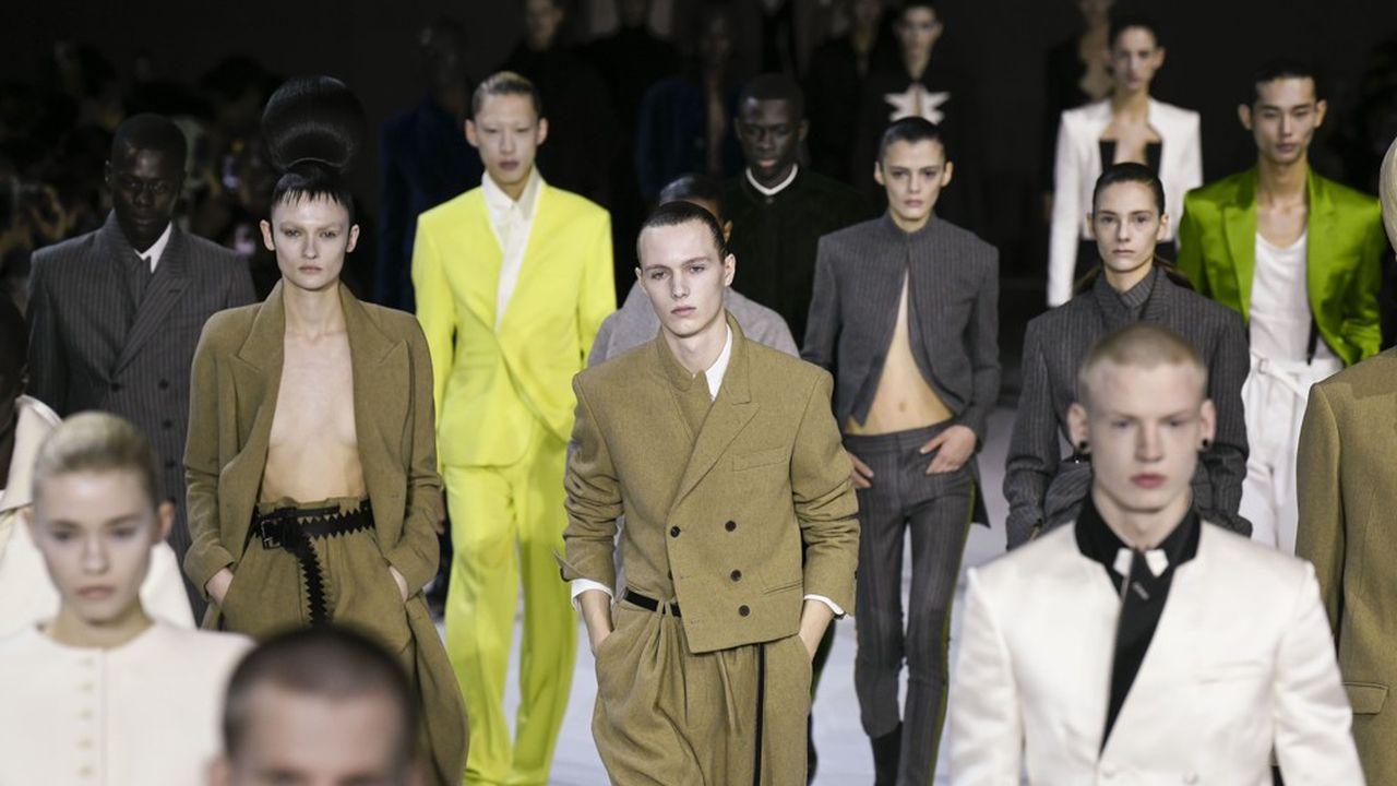 Fashion Week Automne-Hiver 2020-21: la beauté du chaos selon Haider Ackermann