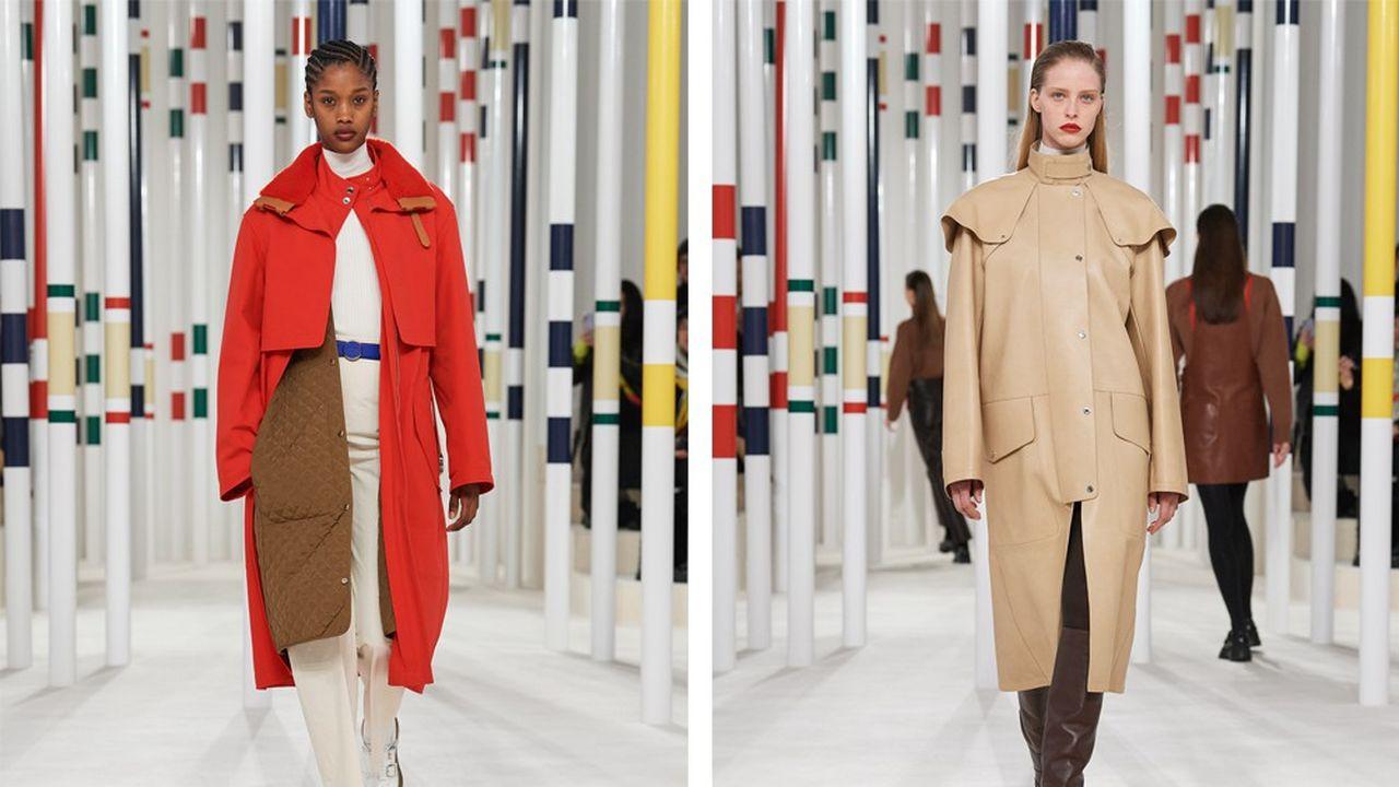 Fashion Week Automne-Hiver 2020-21: l'épure sophistiquée d'Hermès