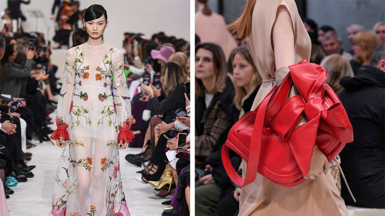 Fashion Week Automne-Hiver 2020-21: Valentino remet ses codes en jeu