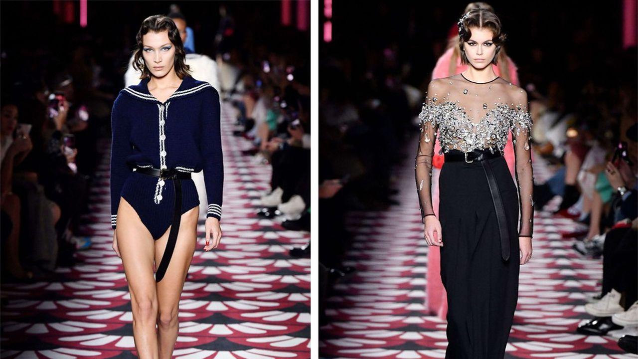 Fashion Week Automne-Hiver 2020-21: la nostalgie sublimée de Miu Miu