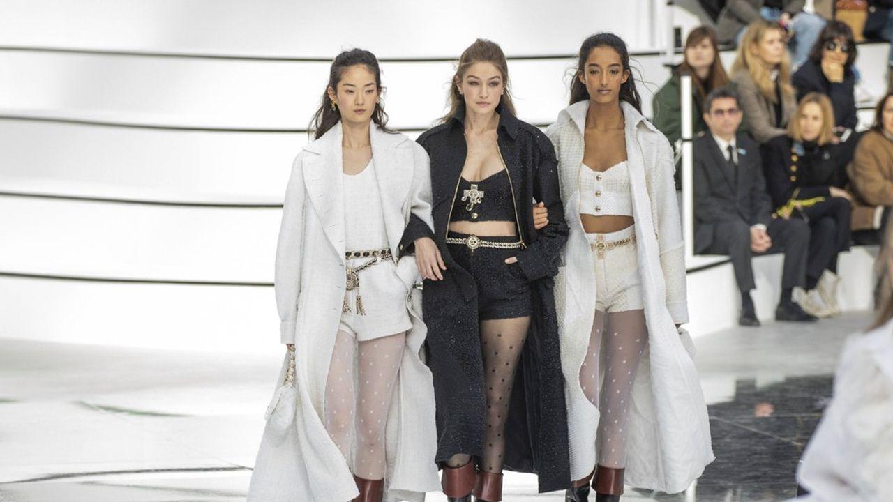 Fashion Week Automne-Hiver 2020-21: la ligne moderne de Chanel