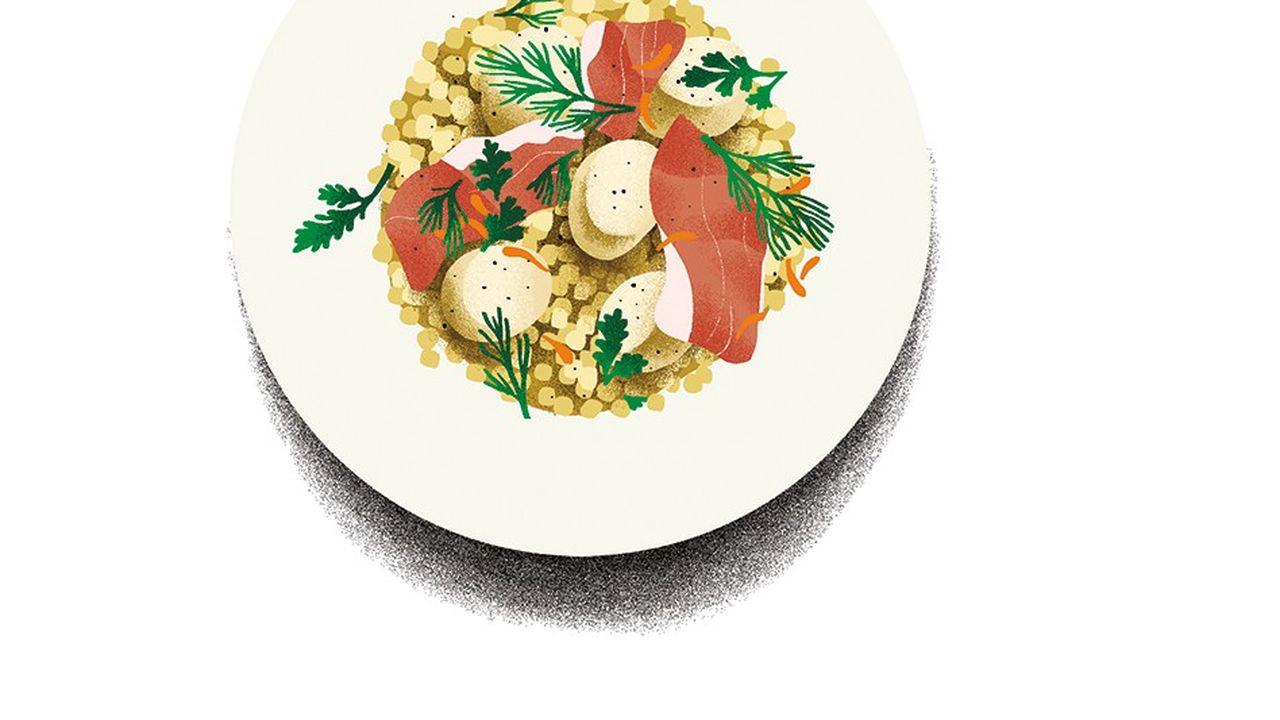 L'Escudella, l'assiette du sud