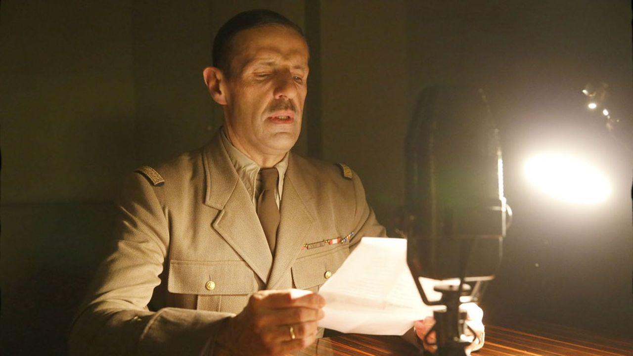 Lambert Wilson a la rude tâche d'incarner le Général.