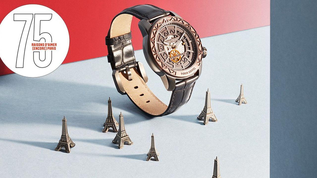 Horlogerie: la Tour Eiffel au poignet