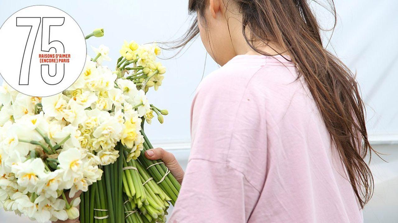 Des fleurs made in Belleville