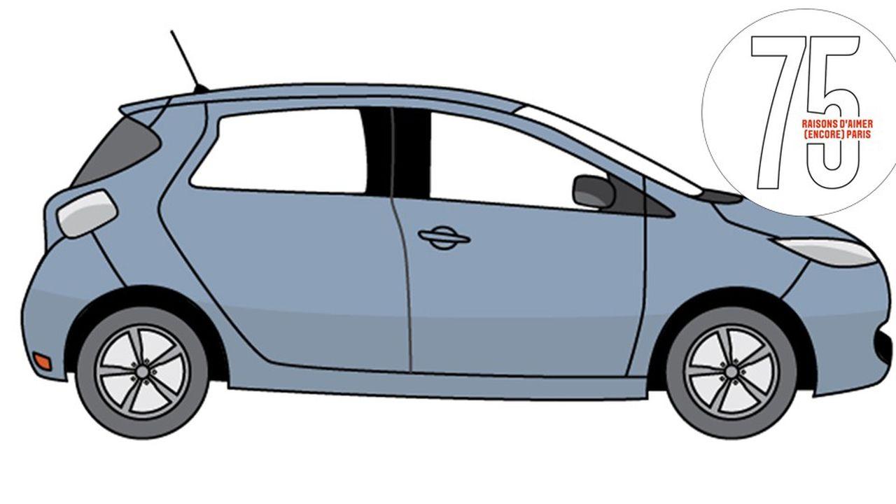 Zoé de Renault : la voiture électrique la plus vendue est made in Paris
