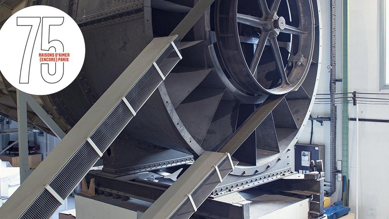 A Auteuil, le laboratoire aérodynamique de Gustave Eiffel