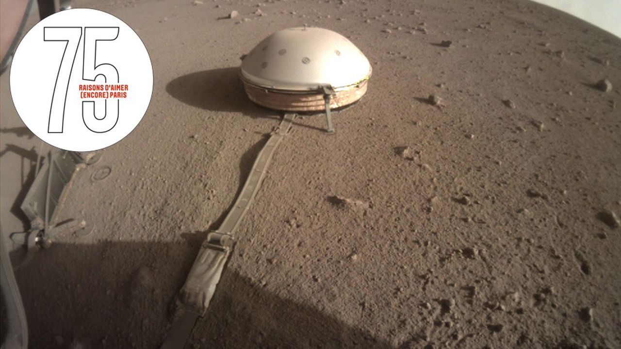 IPGP: en exclu, le son de Mars