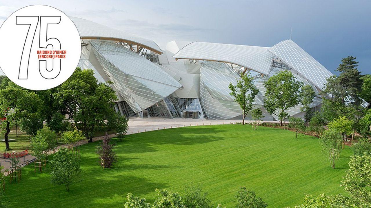 Fondation Vuitton, l'art en majesté