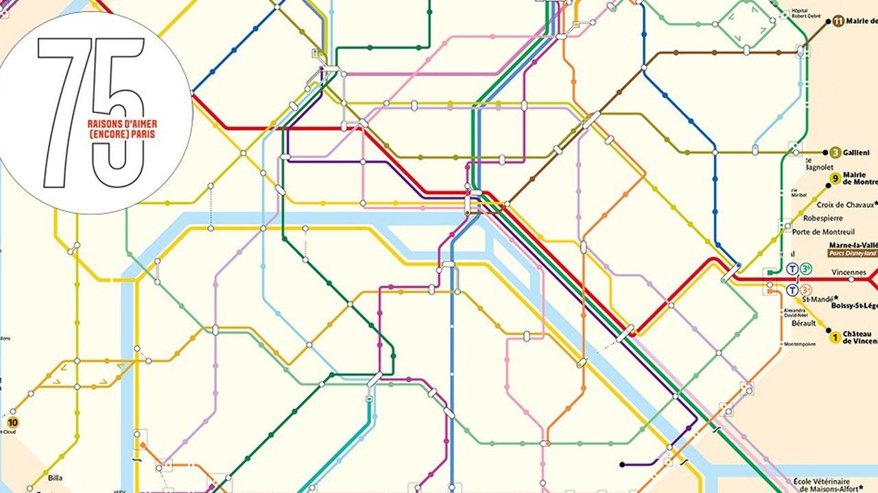 À Paris, le métro le plus dense du monde