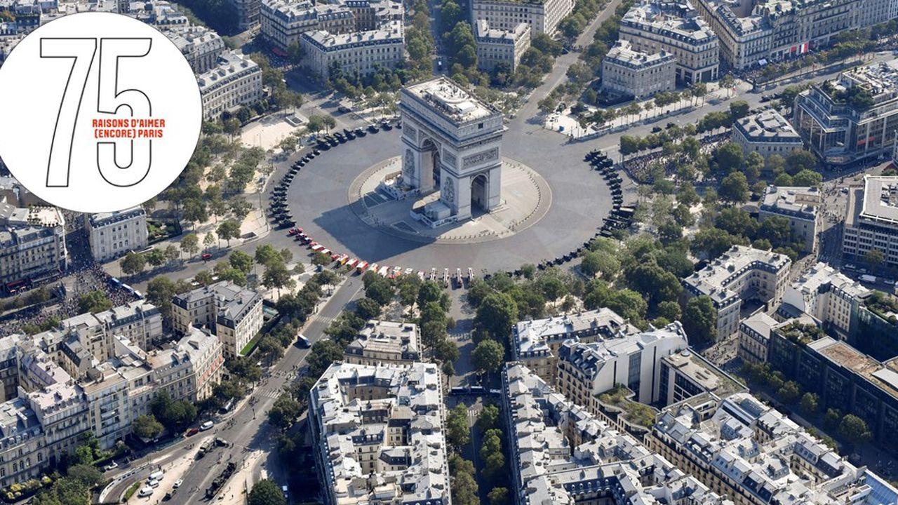 Paris: le Triangle d'or, un concentré de luxe