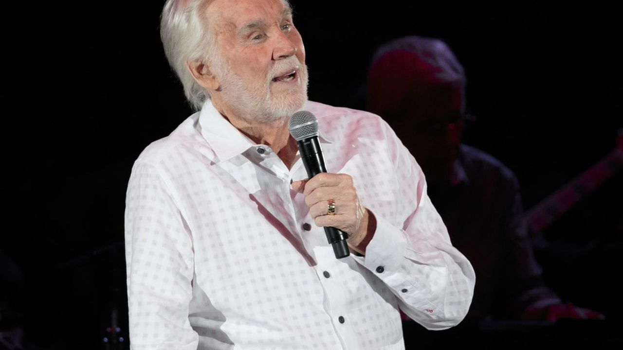 Kenny Rogers à Austin en mars 2017