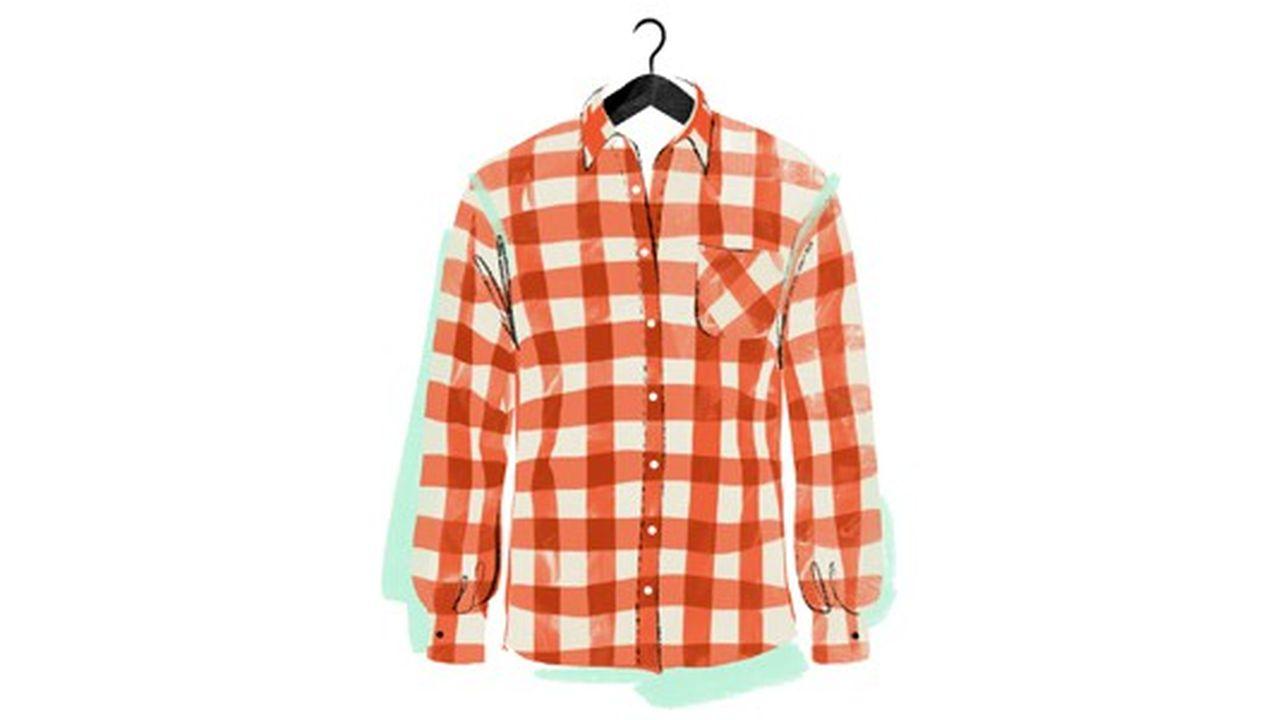 Mode: la chemise à carreaux vue par Sabine Delanglade
