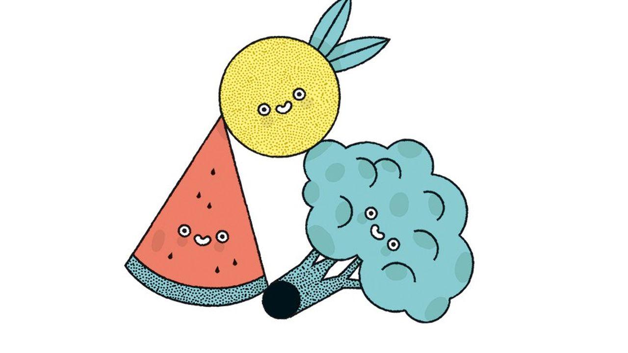 Les fruits et légumes contre l'anxiété