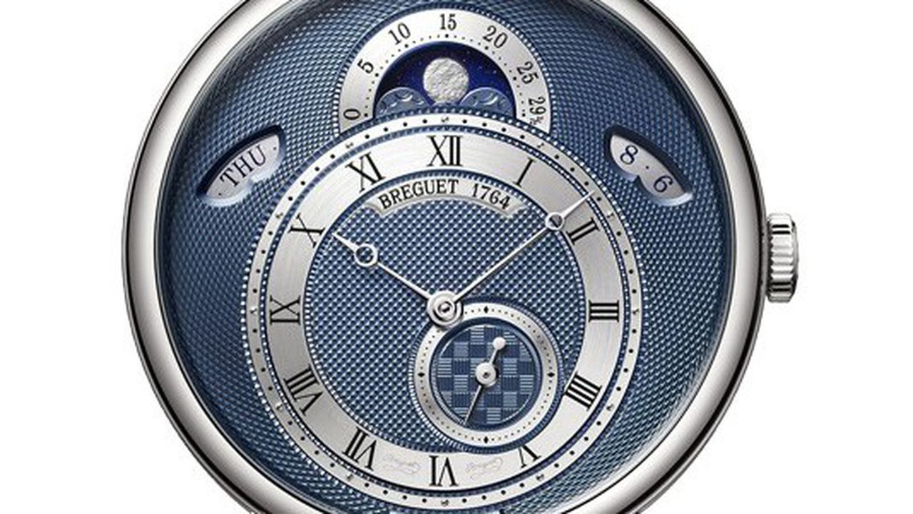 Heures Actuelles : montres à phases de lune