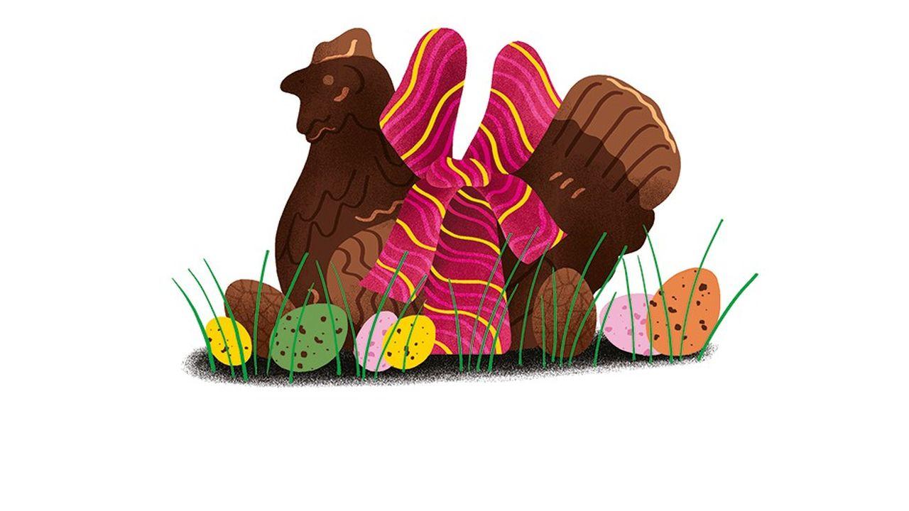Top 5: les oeufs au chocolat en livraison