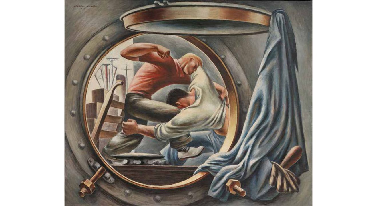 «Trouble in Frisco», 1938, Fletcher Martin (1904-1979).