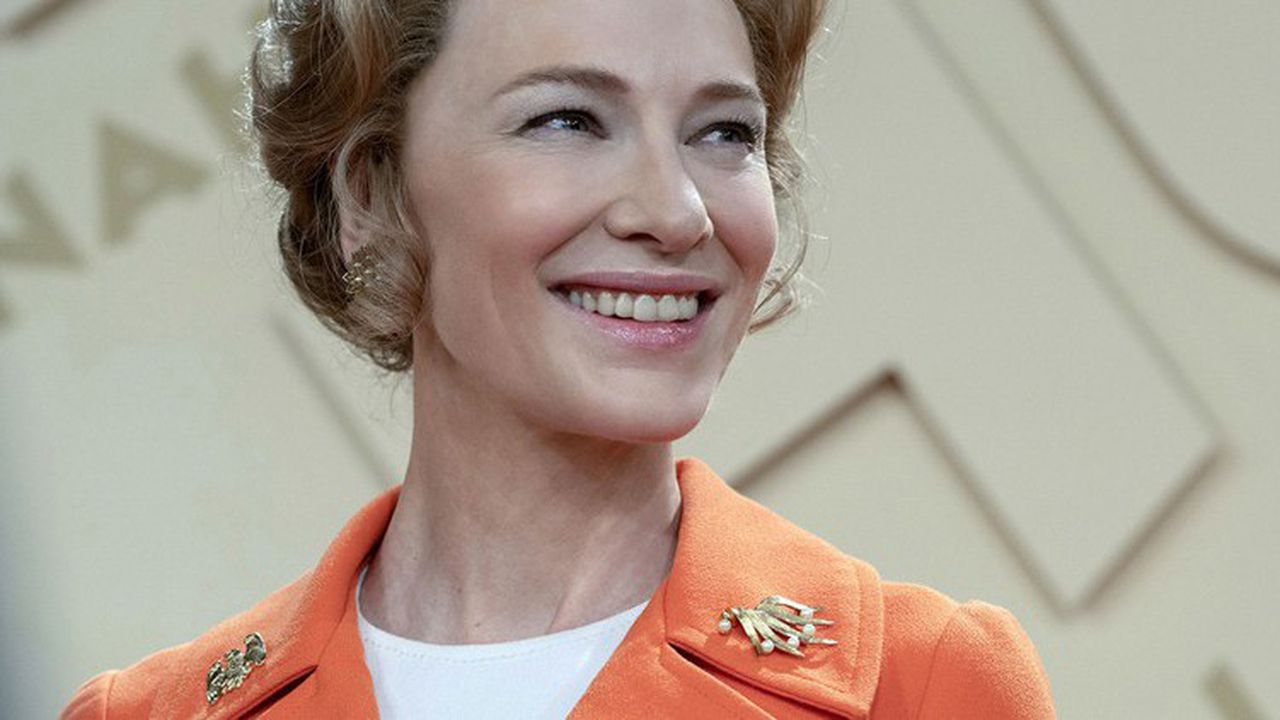 Cate Blanchett remarquable dans le rôle de la militante anti-féministe Phyllis Schlafly.