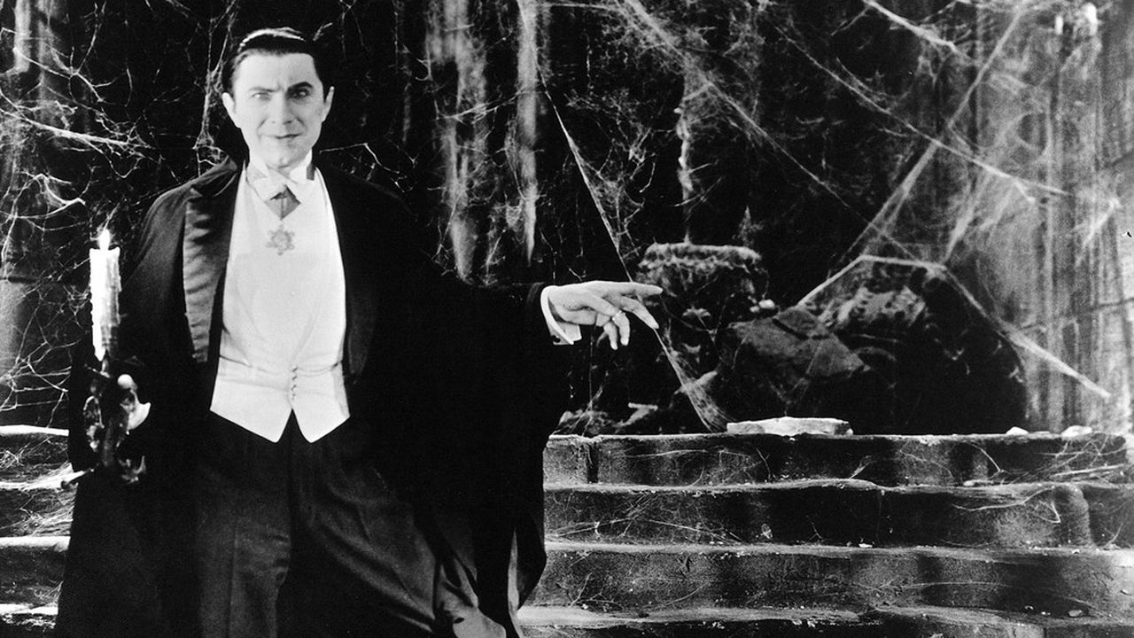 Béla Lugosi, photographié en 1931 lors du tournage de «Dracula» de Tod Browning.