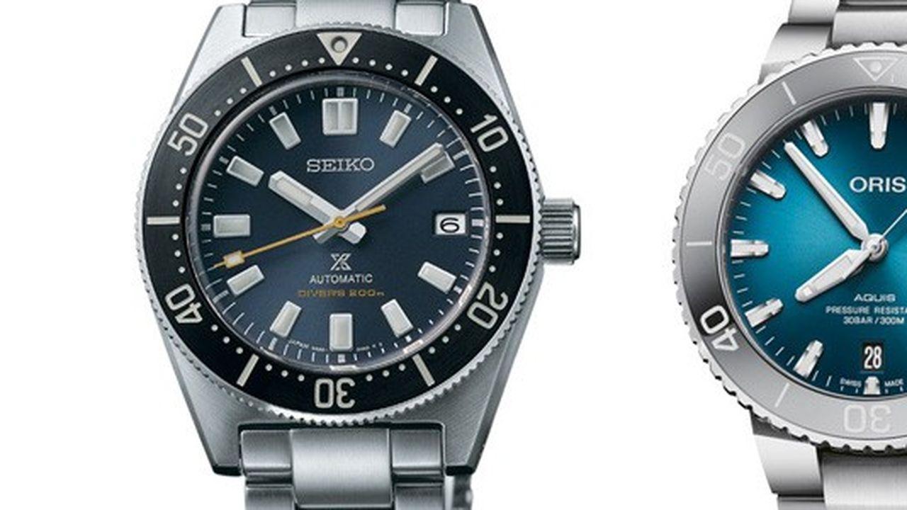 Heures Actuelles : montres de plongée