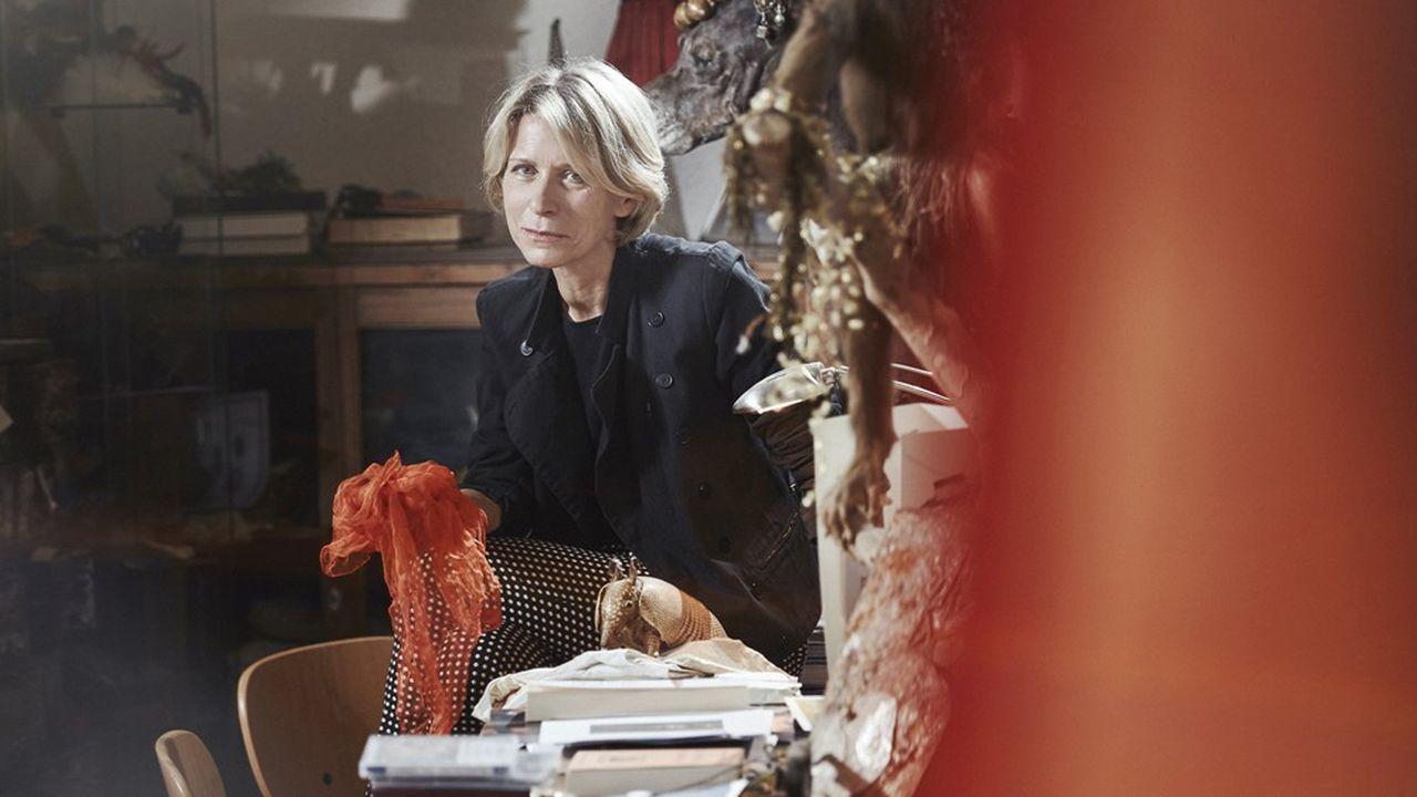 Macha Makeieff, plasticienne et metteure en scène, est la directrice du Théâtre de La Criée, à Marseille.
