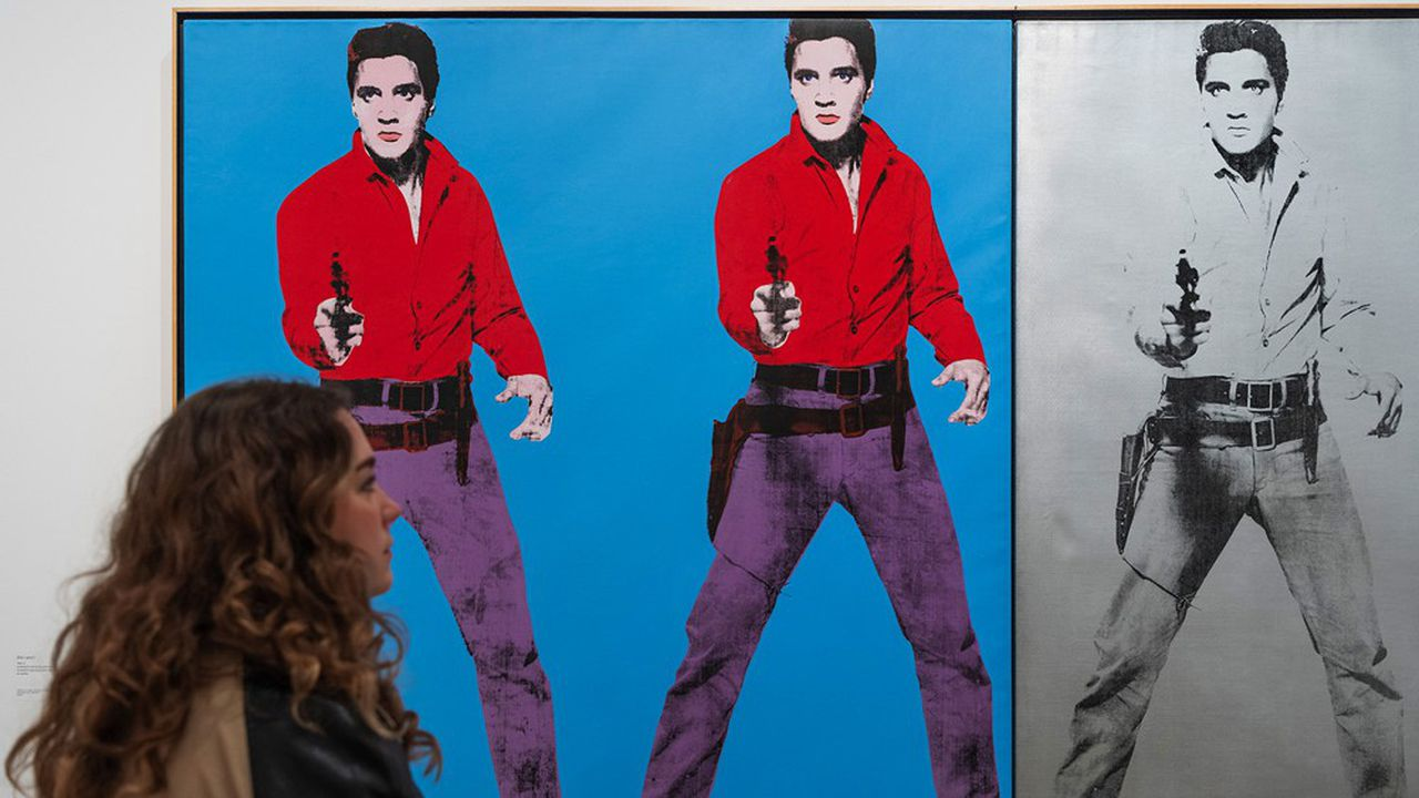 L'expo Andy Warhol à la Tate Modern. Elvis I & II 1963-1964. Collection Art Gallery of Ontario, Toronto. Gift from the Women's Committee Fund, 1966 © 2020 The Andy Warhol Foundation for the Visual Arts Inc. / Licensed by DACS, London.