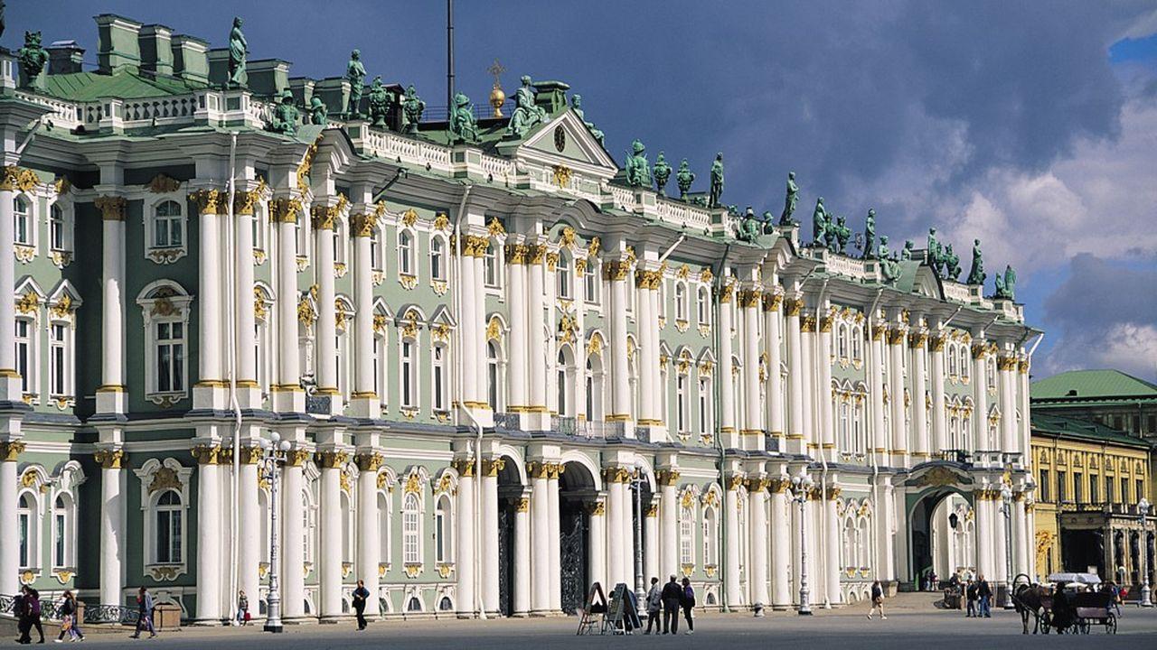 Le musée de l'Ermitage, à Saint-Pétersbourg, propose une offre en ligne exceptionnelle (Palais d'hiver).