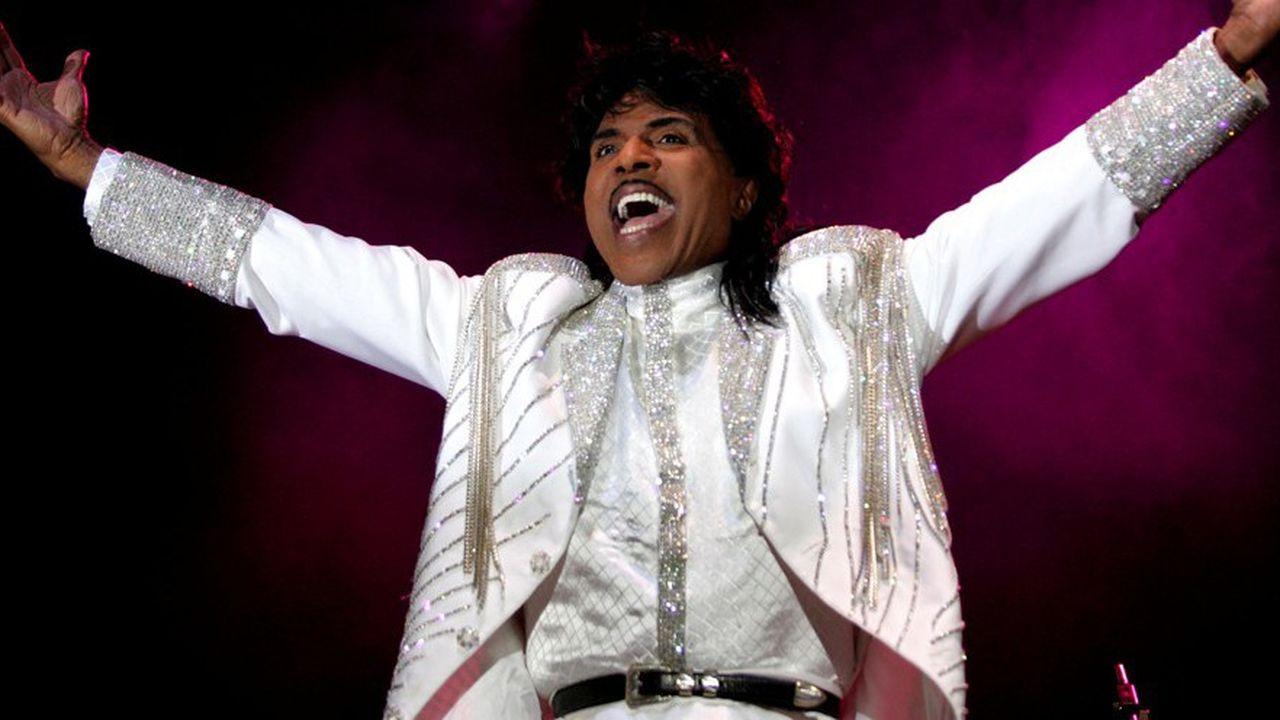 Little Richard, bon pied, bon oeil, lors de sa tournée internationale de 2005.