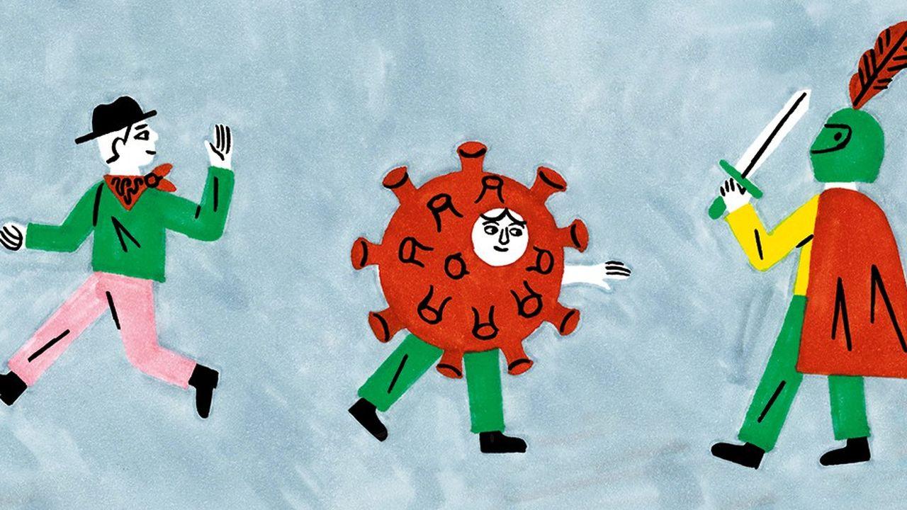 Chez les enfants, l'émergence d'une génération coronavirus