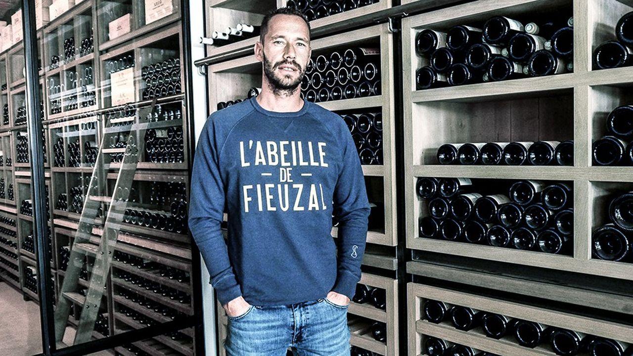 La passion du vin a accompagné Michaël Llodra pendant sa carrière de joueur et est devenue son activité principale depuis sa retraite sportive.