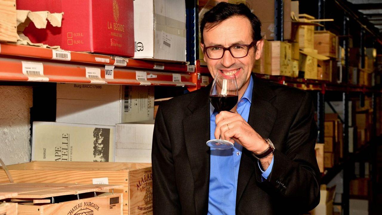 Bernard Le Marois, PDG de Wineandco.
