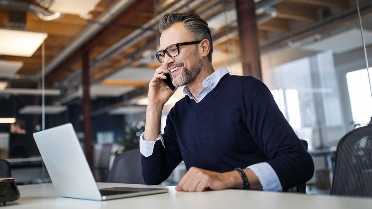 En se connectant sur le site, les entrepreneurs peuvent aussi demander à être rappelés par un conseiller.