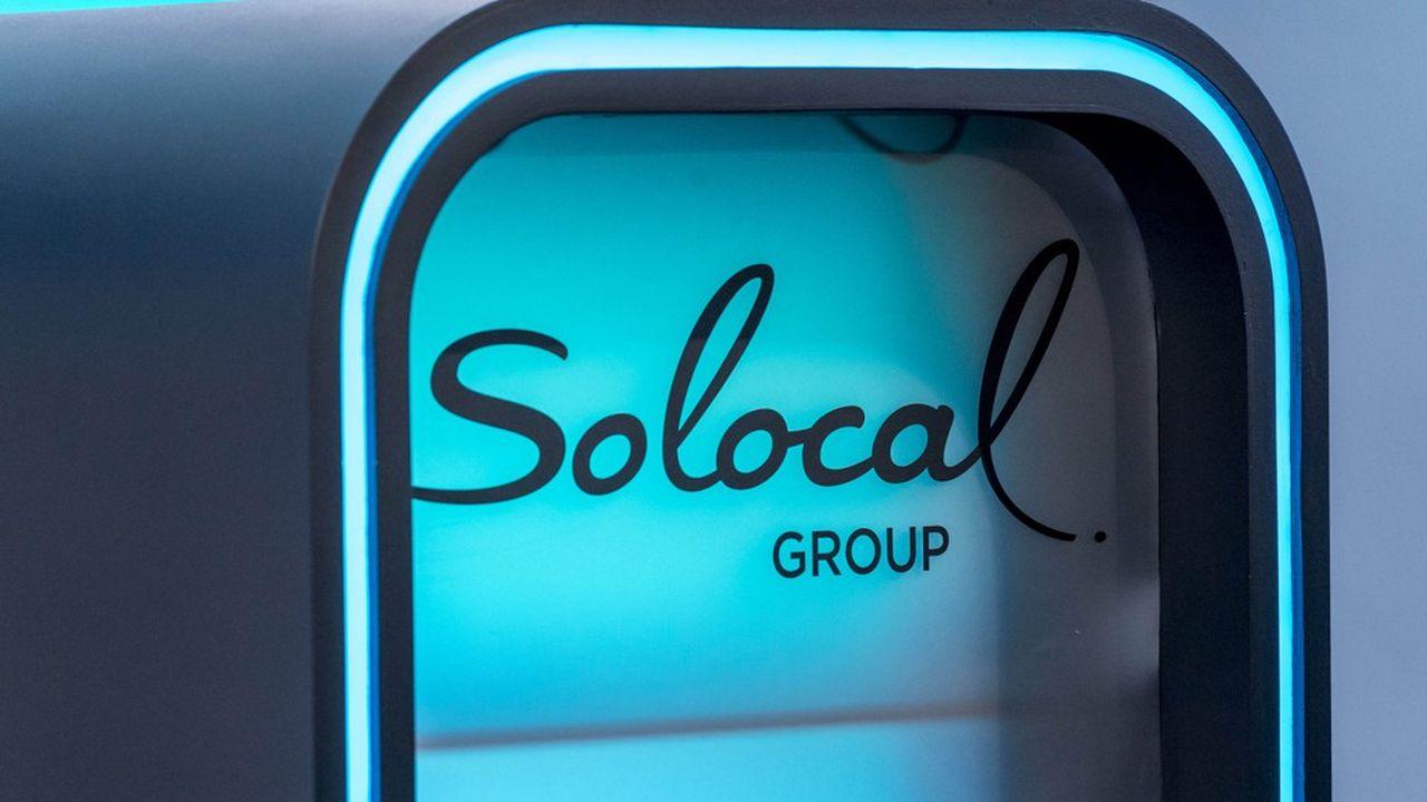 Le cours du groupe Solocal (ex Pages Jaunes) a été suspendu lundi dans l'attente d'un accord sur sa structure financière.