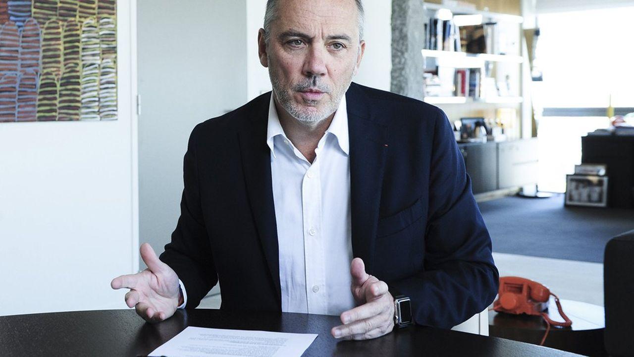 Stéphane Richard, président-directeur général du groupe Orange.