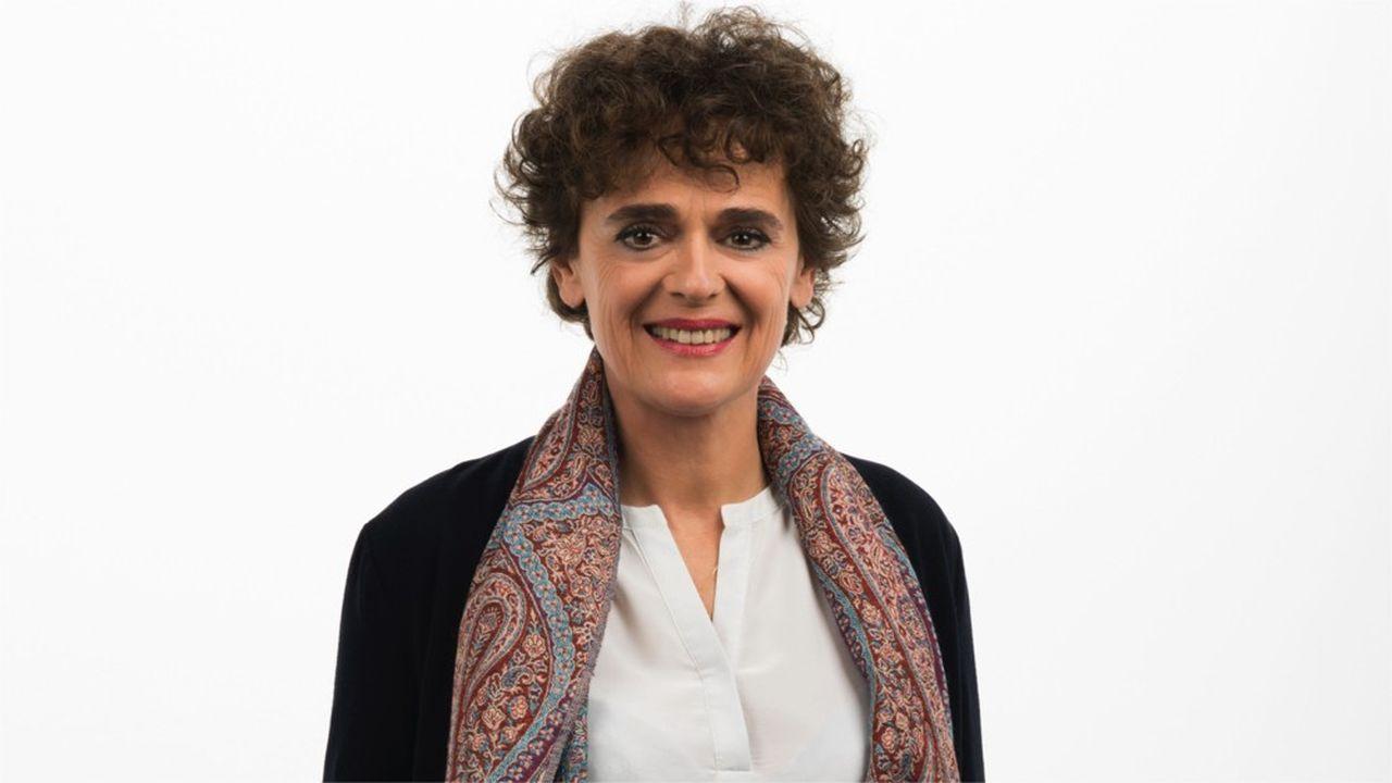 Odile Duvaux, présidente de l'entreprise nantaise Xenothera.