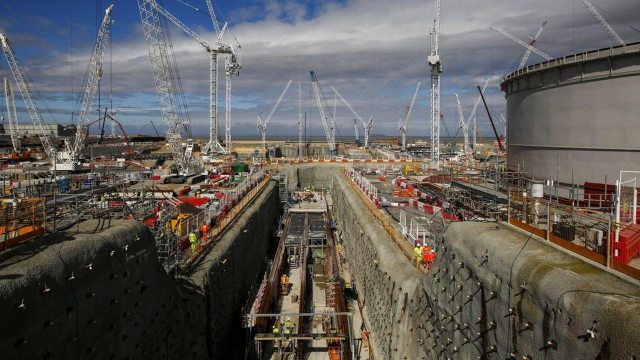Sur les 4.000 personnes travaillant sur le chantier de Hinkley Point, seule une trentaine sont des salariés du groupe chinois CGN, qui apportent leur expérience de l'EPR déjà construit en Chine, à Taishan.