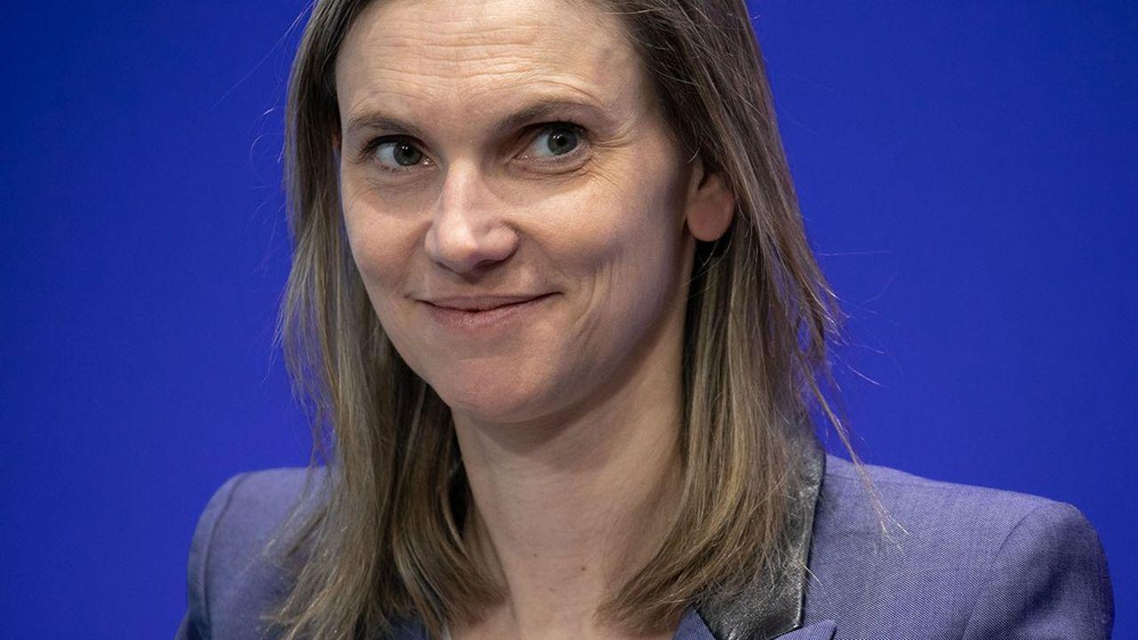 Agnès Pannier-Runacher, la secretaire d'Etat auprès du Ministre de l'Economie porte le plan Territoires d'industrie.