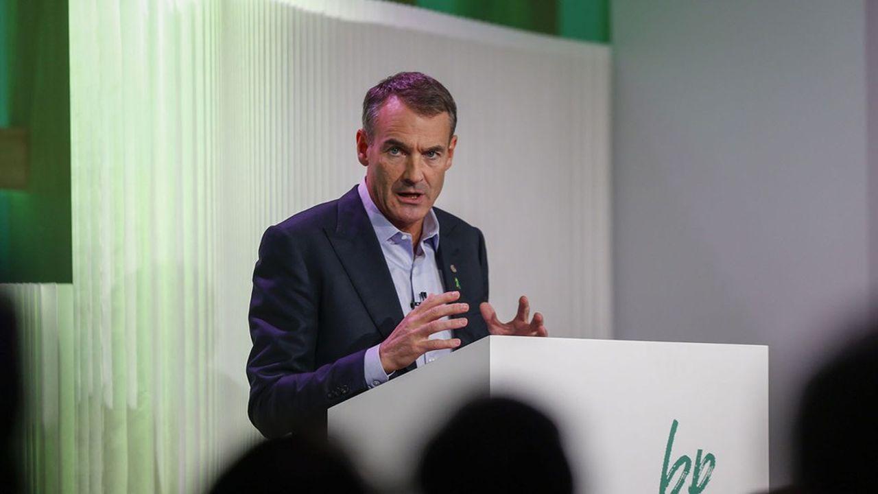 Bernard Looney, le patron de BP, a engagé le pétrolier britannique sur la voie de la transition énergétique.