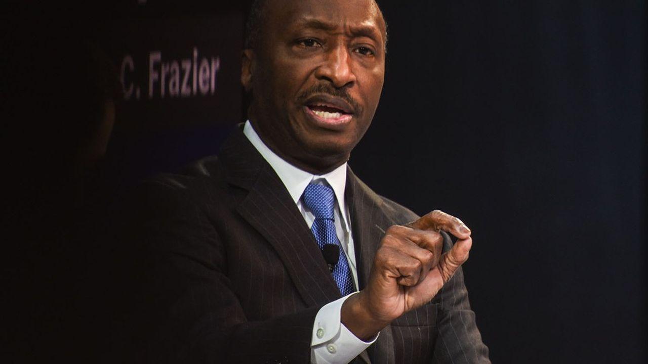 Kenneth Frazier, PDG du laboratoire pharmaceutique Merck et l'un des rares Afro-Américains à la tête d'un grand groupe.