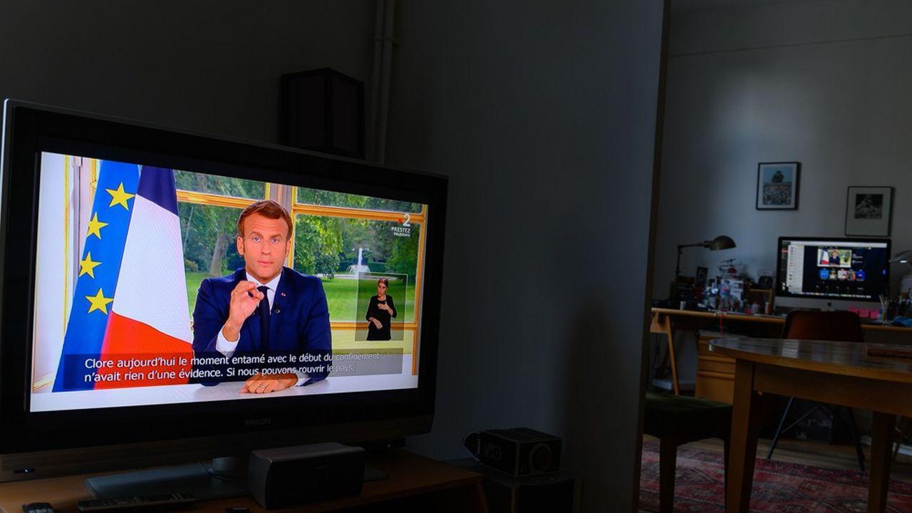 Emmanuel Macron s'est exprimé ce dimanche soir à la télévision.