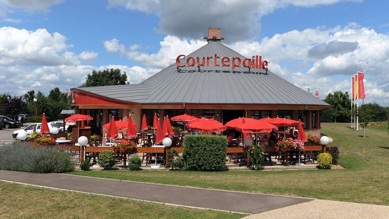 Le premier tour des offres est attendu pour la fin du mois pour une cession que le propriétaire de Courtepaille veut finaliser courant juillet.