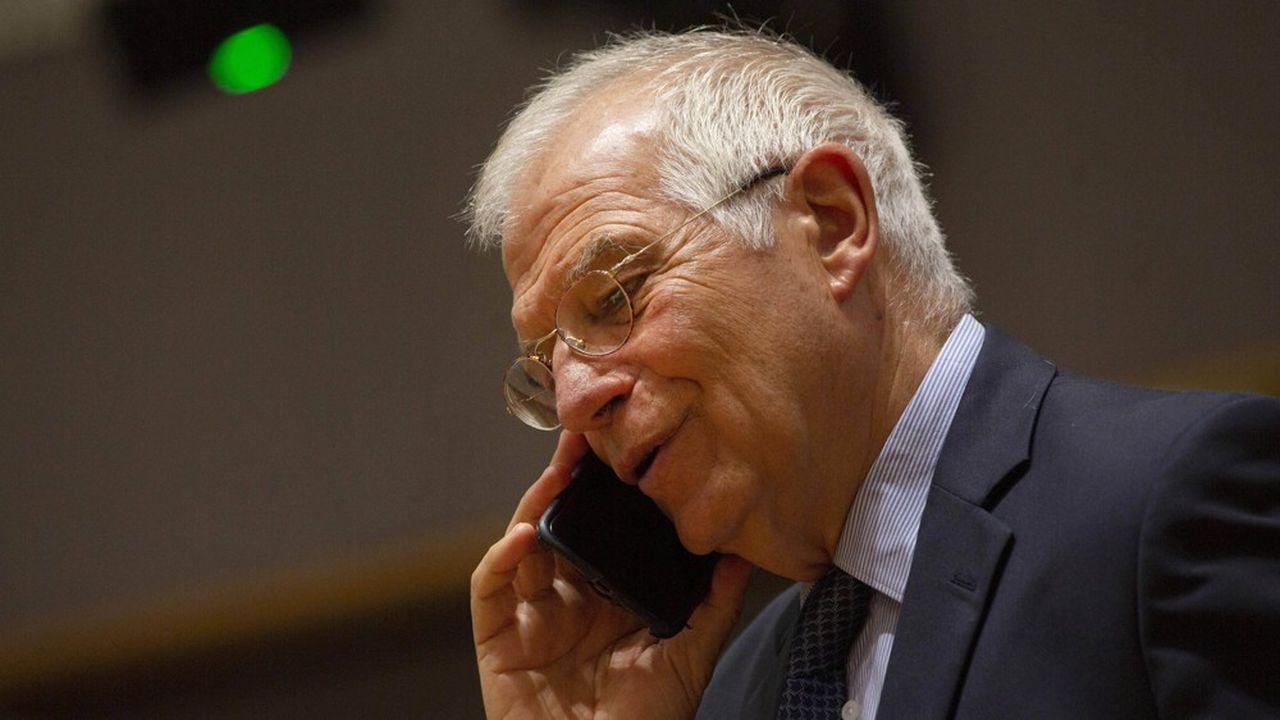 Josep Borrell, le chef de la diplomatie européenne, fait le constat d'une relation transatlantique essentielle mais«sous tension».