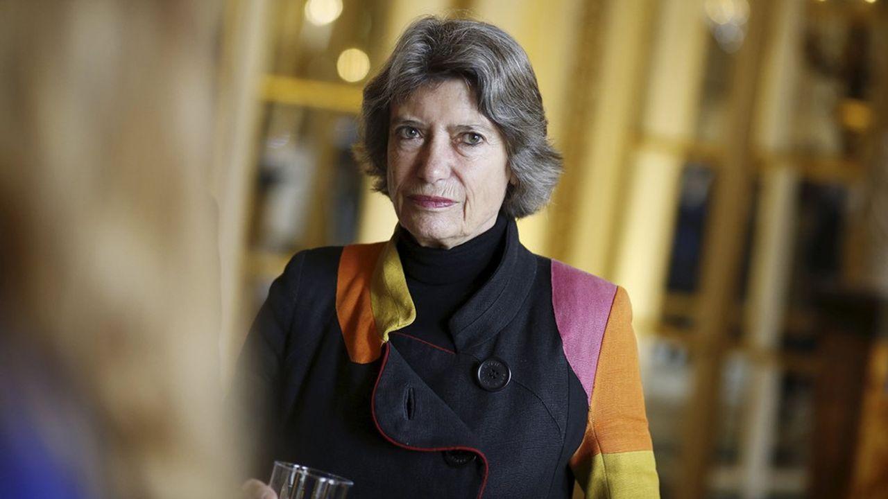 Véronique Cayla, présidente du directoire d'Arte France.