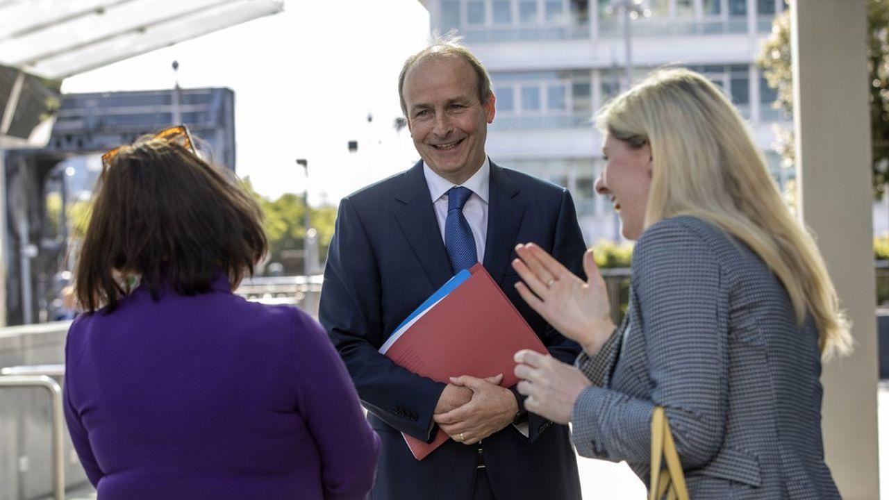 Micheal Martin, dirigeant du Fianna Fáil, premier groupe parlementaire avec 38 des 160 sièges, devrait être le prochain Premier ministre.