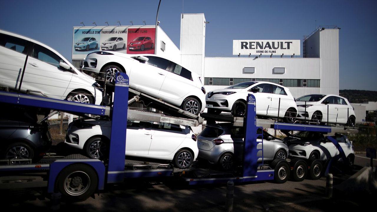Renault veut faire de son usine de Flins, qui cesserait son activité d'assemblage en 2024, «un écosystèmecouvrant l'ensemble de la chaîne de valeur automobile».