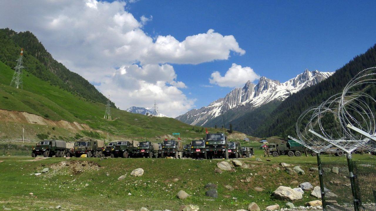 Les confrontations dans des zones montagneuses entre armées indienne et chinoise sont devenues plus fréquentes ces dernières années.