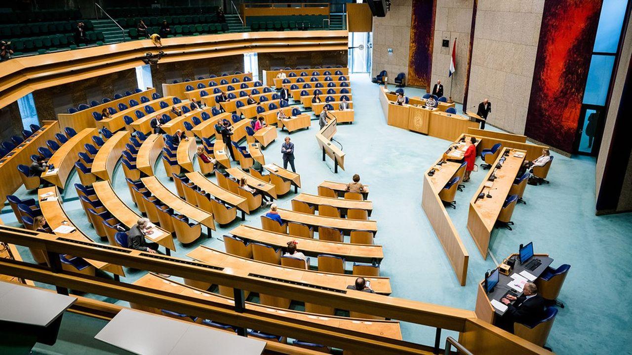 Le Parlement néerlandais ne rassemble pas actuellement une majorité pro-européenne.