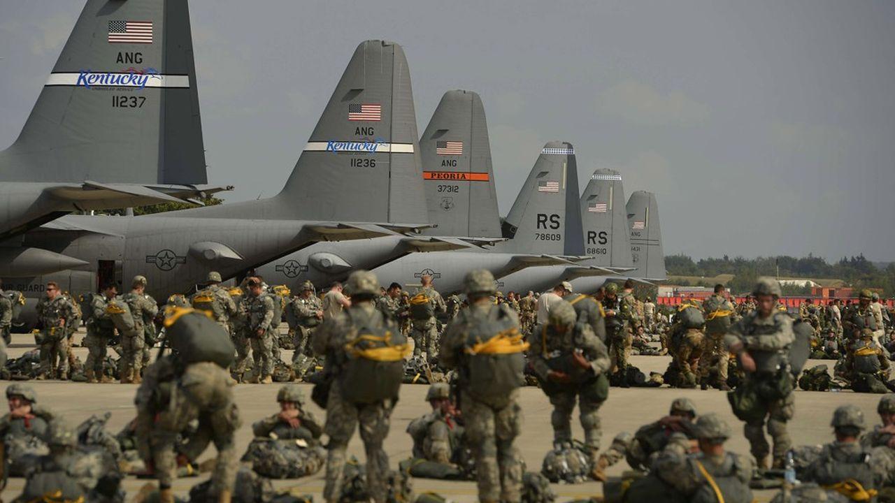La base aérienne de Ramstein en Allemagne est un point de déploiement de puissance essentiel pour les Etats-Unis. La diminution des forces américaines stationnées en Allemagne annoncées par Donald Trump porte un nouveau coup à l'Otan.
