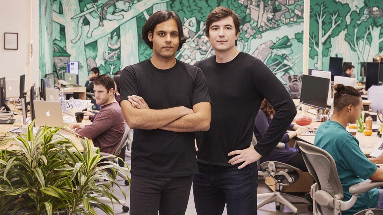 Vladimir Tenev et Baiju Prafulkumar Bhatt, les fondateurs de Robinhood Markets (Palo Alto, Californie), ont pour ambition est de démocratiser les marchés financiers